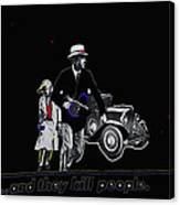 Bonnie And Clyde Poster 1967 Death Valley California 1968-2009 Canvas Print