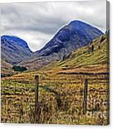 Bonny Scotland Canvas Print