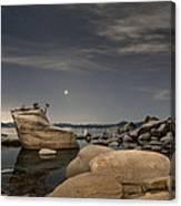Bonsai Rock With Venus And Mars Canvas Print