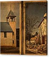 Book Of Churches Canvas Print