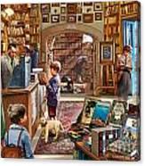 Bookshop Canvas Print