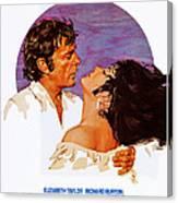 Boom, Us Poster, Richard Burton Canvas Print