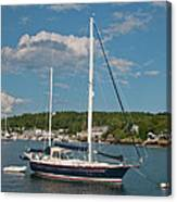 Boothbay Harbor 1390 Canvas Print