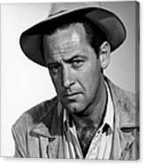 Boots Malone, William Holden, 1952 Canvas Print