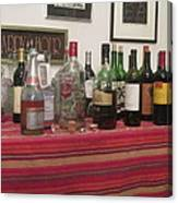 Booze At The Party Canvas Print