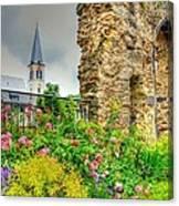 Boppard Garden Ruins Canvas Print