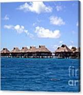 Bora Bora Lagoon Canvas Print