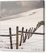Border Line Canvas Print