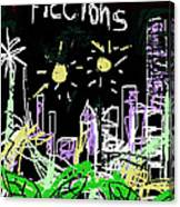 Borges Fictions Poster  Canvas Print