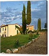 Borgo Bottaia Canvas Print