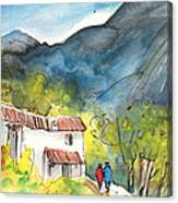 Borgo In Italy 01 Canvas Print