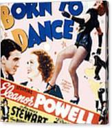 Born To Dance Canvas Print