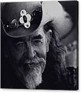 Born To The West Homage 1937 Buffalo Bill Helldorado Days Tombstone Arizona 1968-2008 Canvas Print