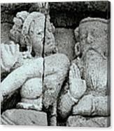 Borobudur Apsara Dancer Canvas Print