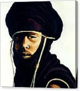 Bororo Tribsman Canvas Print