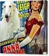 Borzoi Art - Anna Karenine Movie Poster Canvas Print