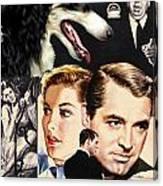 Borzoi Art - Suspicion Movie Poster Canvas Print