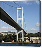 Bosphorus Bridge Istanbul Canvas Print