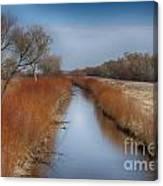 Bosque Del Apache Wetlands- New Mexico Canvas Print