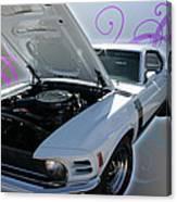 Boss 302 Mustang Canvas Print