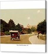 Boston - Back Bay Fens Speedway - 1915 Canvas Print