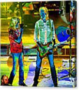 Boston #78 Enhanced In Cosmicolors Canvas Print