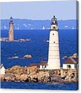 Boston And Graves Light Canvas Print