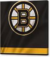 Boston Bruins Uniform Canvas Print