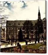Boston College Canvas Print