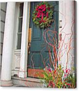 Boston Doorway Two Canvas Print
