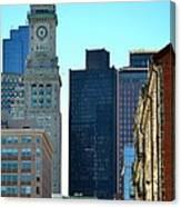 Boston Financial District Canvas Print