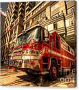 Boston Fire Truck  Canvas Print