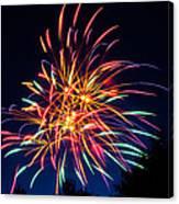 Boston Fireworks Canvas Print
