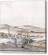 Boston Harbor, 1775 Canvas Print