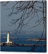 Boston Lighthouse Canvas Print
