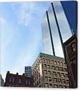 Boston Ma Architecture 2 Canvas Print