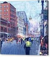 Boston Marathon Angels Canvas Print