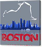 Boston Marathon3 Canvas Print