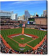Boston Red Sox V Baltimore Orioles Canvas Print