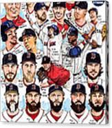 Boston Red Sox Ws Champions Canvas Print