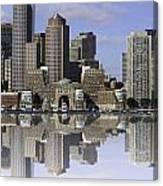 Boston Reflections Canvas Print