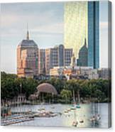 Boston Skyline II Canvas Print