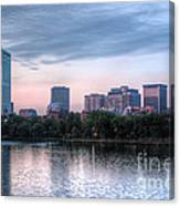 Boston Skyline IIi Canvas Print