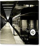 Boston South Station Old Train Canvas Print