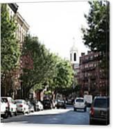 Boston Streetscene  Canvas Print
