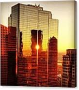 Boston Sunrise Canvas Print