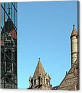 Boston Unity Reflected 2853 Canvas Print