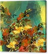 Botanical Fantasy 090914 Canvas Print