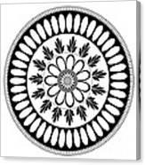 Botanical Ornament Canvas Print