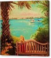 Botanical View Canvas Print